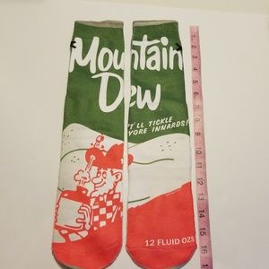 Pepsi Accessories - Mountain Dew Socks